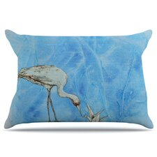 Crane Pillowcase