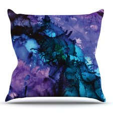 Soul Searching Outdoor Throw Pillow