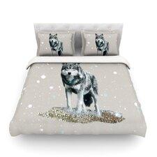 Wolf Cotton Duvet Cover