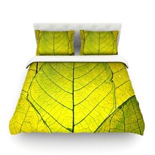 Every Leaf a Flower Cotton Duvet Cover