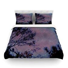 Twilight Tree Cotton Duvet Cover