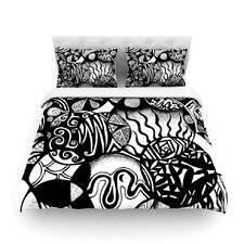 Circles and Life Cotton Duvet Cover