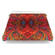 Red Sea Abstract Cotton Duvet Cover