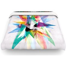 Colorful Rainbow Abstract Cotton Duvet Cover