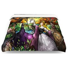 I Know You Fairytale Forest Cotton Duvet Cover