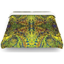 Yellow Jacket Abstract Cotton Duvet Cover