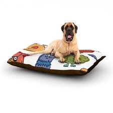 Little Monsters Rectangle Pet Bed
