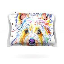 Bella Scottish Terrier Cotton Pillow Sham