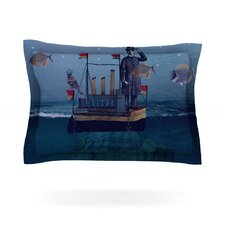 The Voyage by Suzanne Carter Woven Pillow Sham