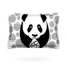 Panda Cotton Pillow Sham