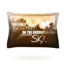 Touch the Sky Cotton Pillow Sham