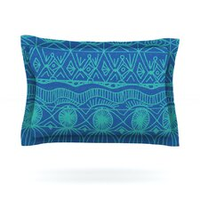 Beach Blanket Confusion Cotton Pillow Sham