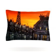 Paris by Christen Treat Woven Pillow Sham