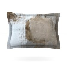 Calm and Neutral by CarolLynn Tice Woven Pillow Sham