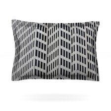 The Grid Cotton Pillow Sham