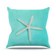Starfish Outdoor Throw Pillow