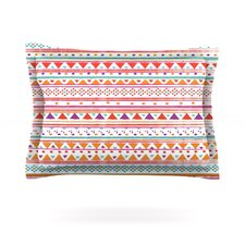 Native Bandana by Nika Martinez Woven Pillow Sham
