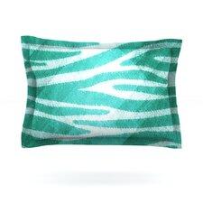 Zebra Print Texture Cotton Pillow Sham