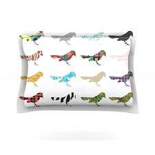 Birds Cotton Pillow Sham
