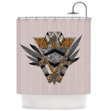 Indian Feather Polyester Shower Curtain