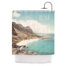 Aloha Polyester Shower Curtain
