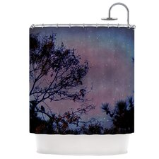 Twilight Polyester Shower Curtain