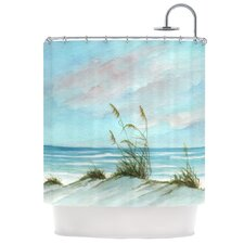 Sea Oats Polyester Shower Curtain