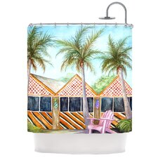 MCT on Sanibel Polyester Shower Curtain