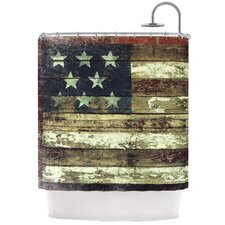 Oh Beautiful Polyester Shower Curtain