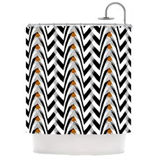 Wings Polyester Shower Curtain
