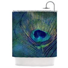 Plume Polyester Shower Curtain