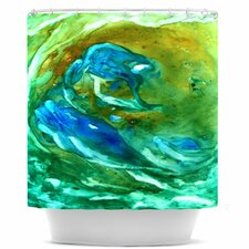 Hurricane Polyester Shower Curtain
