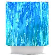 Wet & Wild Polyester Shower Curtain