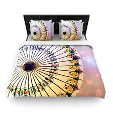 Parasol by Sylvia Cook Woven Duvet Cover
