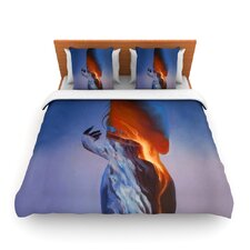 Volcano Girl Duvet Cover