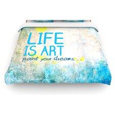 Life Is Art Duvet