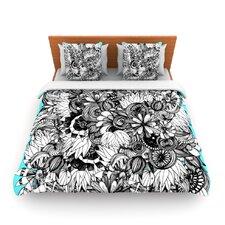 Blumen by Anchobee Fleece Duvet Cover