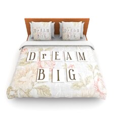 Dream Big by Debbra Obertanec Fleece Duvet Cover