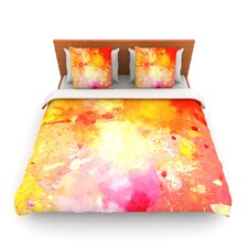 Splash by CarolLynn Tice Fleece Duvet Cover