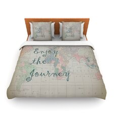 Journey by Catherine Holcombe Fleece Duvet Cover
