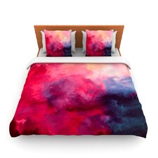 Reassurance by Caleb Troy Fleece Duvet Cover