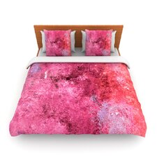 Cotton Candy by CarolLynn Tice Fleece Duvet Cover