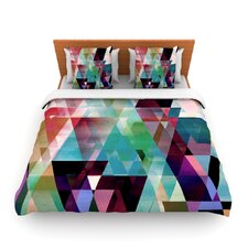 Splash by Gabriela Fuente Fleece Duvet Cover