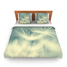 Snowflake by Ingrid Beddoes Woven Duvet Cover