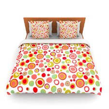 Bubbles by Louise Machado Fleece Duvet Cover