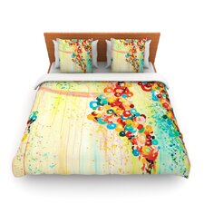 Summer in Bloom by Ebi Emporium Fleece Duvet Cover