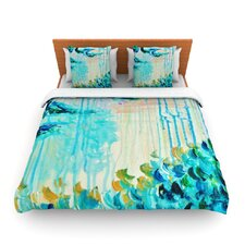 Poseidons Wrath by Ebi Emporium Fleece Duvet Cover