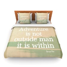 Adventure by Rachel Burbee Fleece Duvet Cover