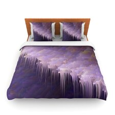Malibu by Michael Sussna Fleece Duvet Cover