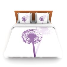 Dandelion by Monika Strigel Fleece Duvet Cover